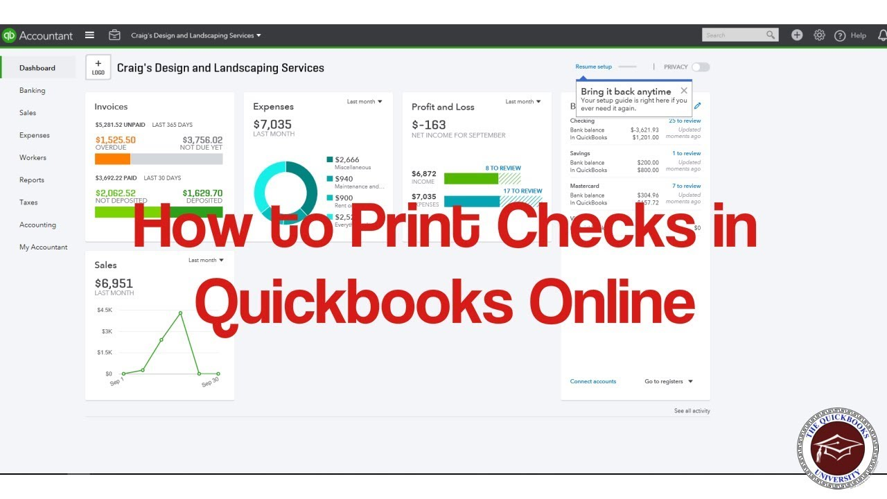 how to edit checks in quickbooks online