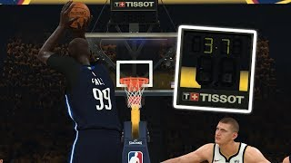 NBA 2K20 Tacko Fall My Career - THE GAME CAME DOWN TO THIS FINAL SHOT BY TACKO FALL!