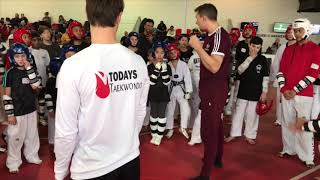 Todays Taekwondo Raleigh Seminar 2018