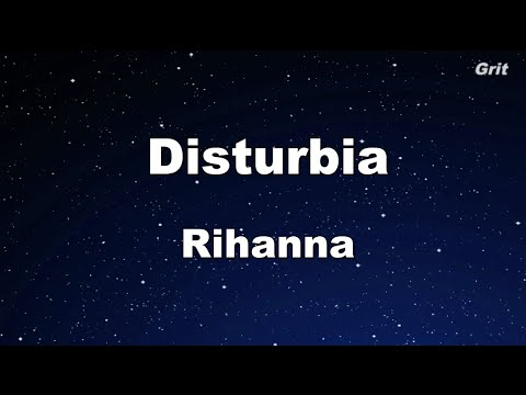 Disturbia - Rihanna Karaoke 【No Guide Melody】 Instrumental