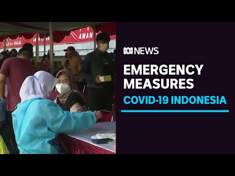 Indonesia imposes COVID-19 restrictions to contain delta variant surge | ABC News