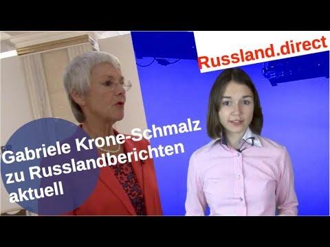 Gabriele Krone-Schmalz zur Russlandberichterstattung aktuell