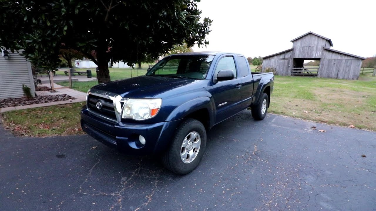 Back In A Toyota! 2nd Gen Tacoma Build Intro