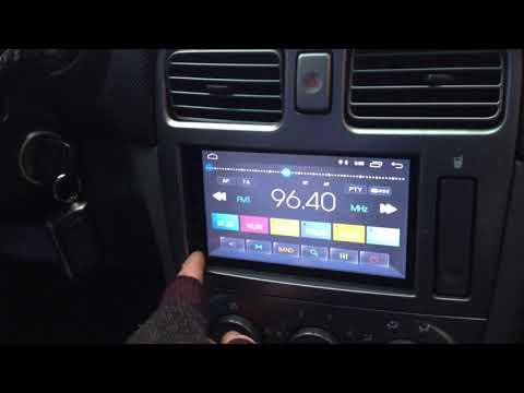 2018  Android магнитолла на Subaru Forester Sg5 Prime-x B21 (Китай)