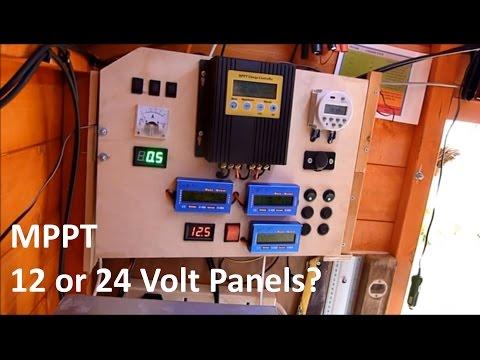 MPPT 12 or 24 volt? - 12v Solar Shed