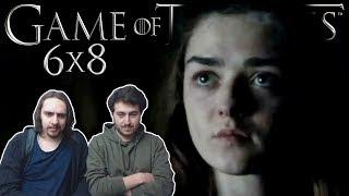 """Game of Thrones Season 6 Episode 8 REACTION """"No One"""""""