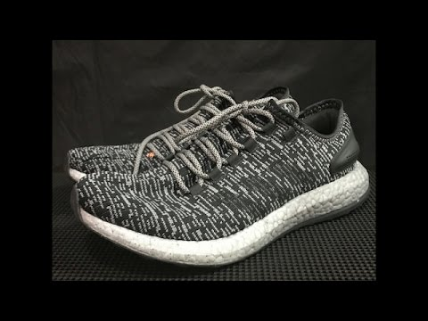 4076efb2f0eaf5 Adidas Pureboost 2017 Performance Review - YouTube