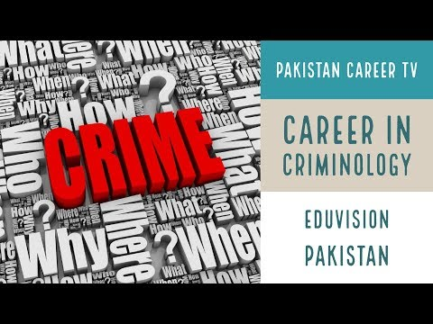 Career In Criminology