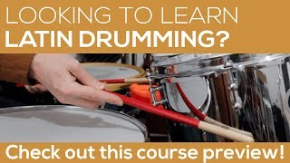 An Introduction to Latin Drumming | Course Preview | Liberty Park Music