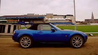 MX5 vs Greyhound challenge - Top Gear - BBC