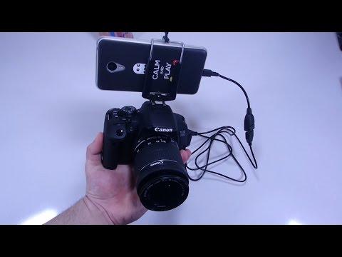 como usar el movil o tablet como monitor de tu cámara dslr