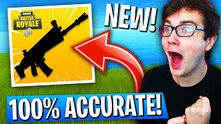 THIS Weapon Is Now 100% ACCURATE In Fortnite: Battle Royale! (SECRET NEW UPDATE!)