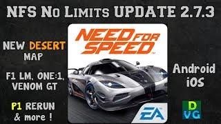 NFS: No Limits | UPDATE | v2.7.3 - Desert Map, One:1, Venom GT, P1 rerun & more !