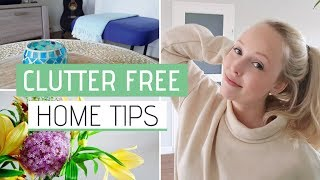 CLUTTER FREE HOME TIPS » 10 Habits for a clutter-free home