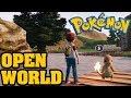 OPEN WORLD POKEMON! Pokémon Origin Fire Red 3D - Pokemon Open World Like The Nintendo Switch?!