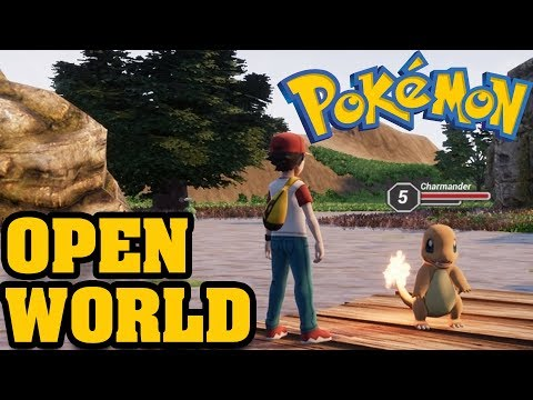 OPEN WORLD POKEMON! Pokémon Origin Fire Red 3D - Pokemon Open World Like The Nintendo Switch?!