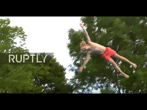LIVE: Odd Dods! Belly flop Olympics in Norway