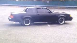 1986 Buick Grand National Burnout and Donuts