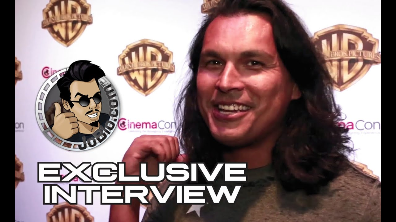 Adam Beach Exclusive SUICIDE SQUAD Interview at CinemaCon ...