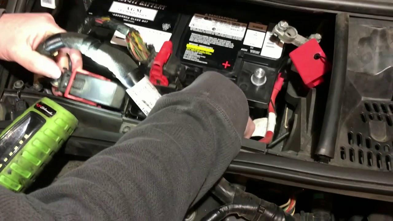 range rover sport batteria