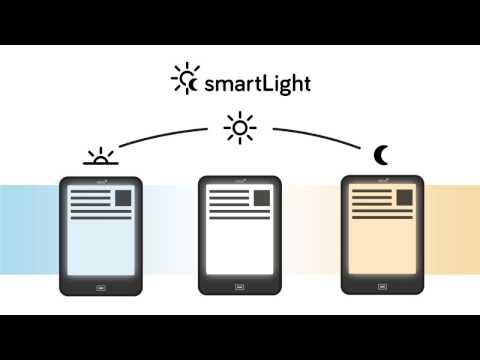So funktioniert smartLight auf dem tolino eReader: tolino smartLight Beleuchtung