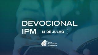 Devocional - IPB Mangabeira - 14/07/2020