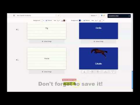 How to Create Flashcards Online with GoConqr