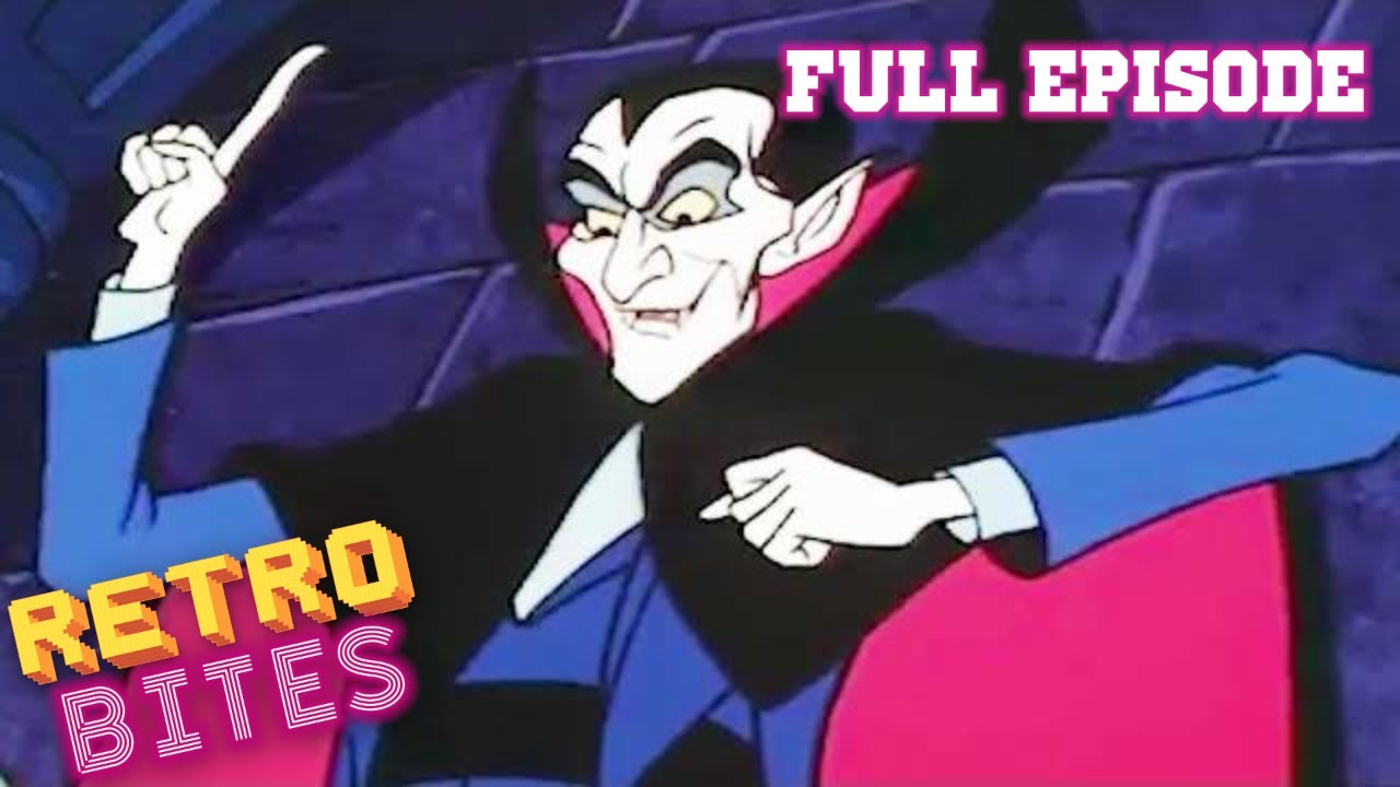 Ghostbusters Shades Of Dracula Halloween Special Tv Series Full Episodes Kids Cartoon Youtube
