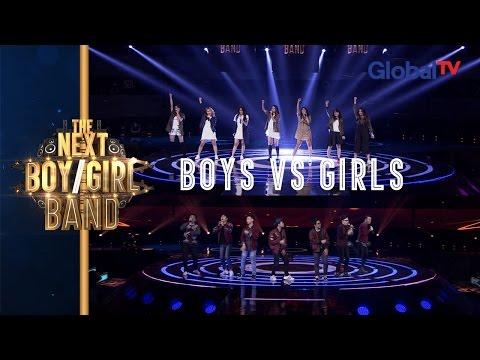 Team Boys VS Team Girls, Who's Your Favorite? I The Next Boy / Girl Band GlobalTV