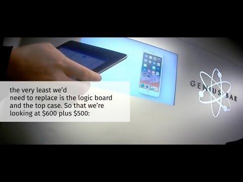 Apple Quotes $1,200 For MacBook Repair   Genius Bar Caught Ripping Customer Off ON CAMERA