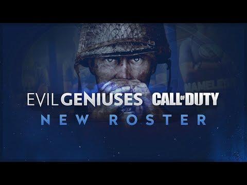 NEW ROSTER - EG Call of Duty Update