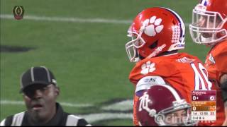 2016 National Championship: #2 Alabama Crimson Tide vs #1 Clemson Tigers Full Game 1080p60