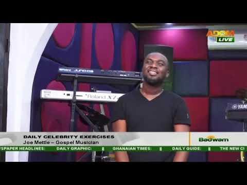 Daily Celebrity Exercise - Badwam News on Adom TV (18-6-20)