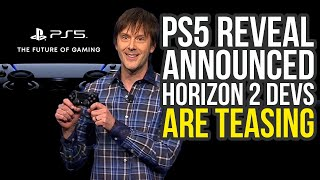 PS5 Reveal Announced - What To Expect & Horizon Zero Dawn 2 Devs Are Teasing (PlayStation 5 Reveal)