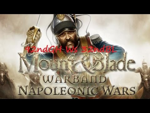 92nd Gordon Highlander 5 - 4 32nd Black Legion : Mount & Blade/Napoleonic wars ( Line Battle )