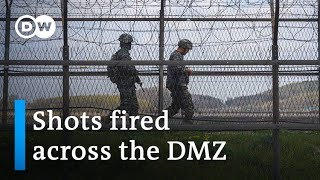 North and South Korean troops exchange gunfire across DMZ | DW News