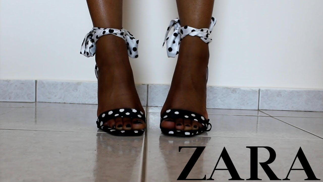 ZARA SHOES TRY ON HAUL SUMMER 2019