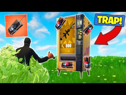Vending Machine C4 *TROLL* In Fortnite Battle Royale!