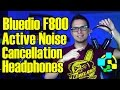 Active Noise Cancellation Headphones | Bluedio F800 Review