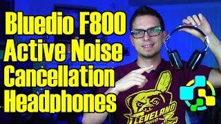 active Noise Cancellation Headphones  Bluedio F800 Review