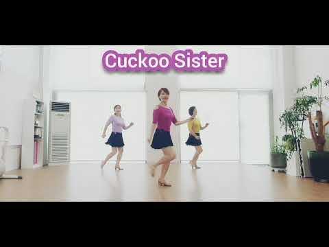 Download Cuckoo Sister-Line Dance (사)한국라인댄스협회-서대문지회
