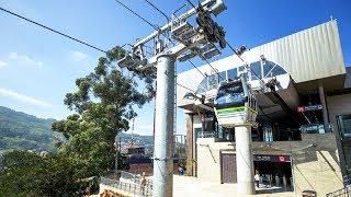 Así serán las estaciones y el trazado del metrocable Picacho Medellín 2017