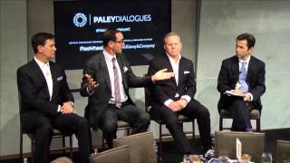 content innovation a conversation with kenneth lowe josh sapan and david zaslav