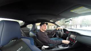 Real Quick Video: 2015 Subaru BRZ Series Blue - Snow & Winter Driving