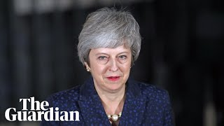The day that nearly ended it all for Theresa May
