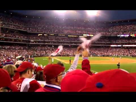 2011 NLDS Game 1 Phillies Ibanez Homerun