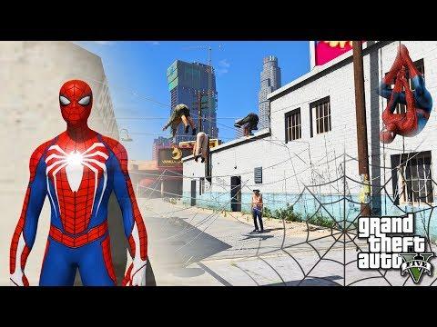 SPIDERMAN MOD GTA 5. МОД НА ЧЕЛОВЕКА ПАУКА В ГТА 5 / Spider-Man V [.NET] + Сила. 3 МОДА в ОДНОМ