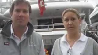 Genoa MYBA Charter Show - talking to superyacht crew