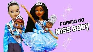 Bonecas LOL Surpresa Família da Miss Baby e Desfile de Todas as Famílias das LOL