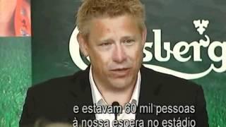 Peter Schmeichel e as recordações do Sporting
